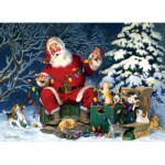 Puzzle  Cobble-Hill-85013 XXL Pieces - Santa's Little Helper