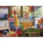 Puzzle  Cobble-Hill-85016 XXL Pieces - Apple Pie Kitchen