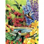 Puzzle  Cobble-Hill-85020 XXL Pieces - Hummingbird Garden