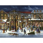 Puzzle  Cobble-Hill-85023 XXL Jigsaw Pieces - Tis the Season