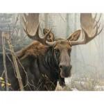Puzzle  Cobble-Hill-85028 XXL Pieces - Bull Moose