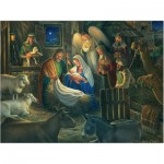 Puzzle  Cobble-Hill-85040 XXL Pieces - Away in a Manger