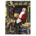 Puzzle  Cobble-Hill-85043 XXL Pieces - Santa's Workbench