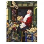Puzzle  Cobble-Hill-85043 XXL Pieces - Santa's Workbench