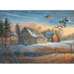 Puzzle  Cobble-Hill-85048 XXL Pieces - Farmstead Flyby