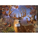 Puzzle  Cobble-Hill-85054 XXL Pieces - Deer and Pheasant