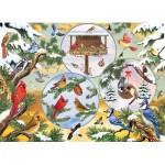 Puzzle  Cobble-Hill-85057 XXL Pieces - Winterbird Magic