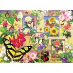 Puzzle  Cobble-Hill-85062 XXL Pieces - Butterfly Magic
