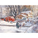 Puzzle  Cobble-Hill-85065 XXL Pieces - Big Game Tomorrow