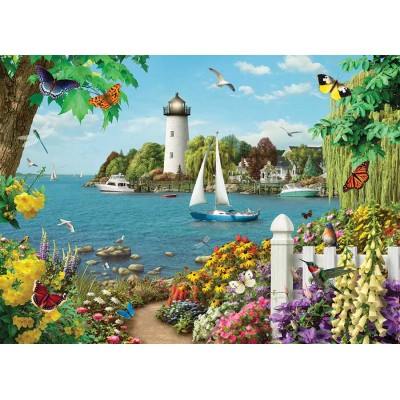 Puzzle Cobble-Hill-85076 XXL Pieces - By the Bay