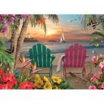 Puzzle  Cobble-Hill-85077 XXL Pieces - Island Paradise