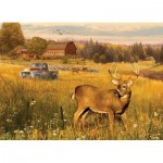 Puzzle  Cobble-Hill-85078 XXL Pieces - Deer Field