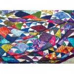 Puzzle  Cobble-Hill-85079 XXL Pieces - Portrait of a Quilt