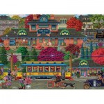 Puzzle  Cobble-Hill-85082 XXL Pieces - Trolley Station