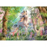 Puzzle  Cobble-Hill-85084 XXL Pieces - Unicorn in the Woods