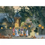 Puzzle  Cobble-Hill-85085 XXL Pieces - Halloween Buddies