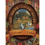 Puzzle  Cobble-Hill-88005 XXL Pieces - Welcome to the Cabin