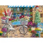Puzzle  Cobble-Hill-88006 XXL Pieces - Pedals 'n' Petals