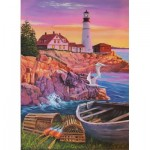 Puzzle  Cobble-Hill-88008 XXL Pieces - Lighthouse Cove