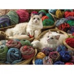 Puzzle  Cobble-Hill-88011 XXL Pieces - Ragdolls