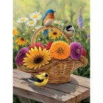 Puzzle  Cobble-Hill-88012 XXL Pieces - Summer Bouquet