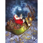 Puzzle  Cobble-Hill-88025 XXL Pieces - Merry Christmas to All