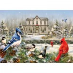 Puzzle   Country House Birds