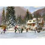 Puzzle   Hockey Pond