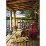 Puzzle   Jack Pine - Cabin Porch