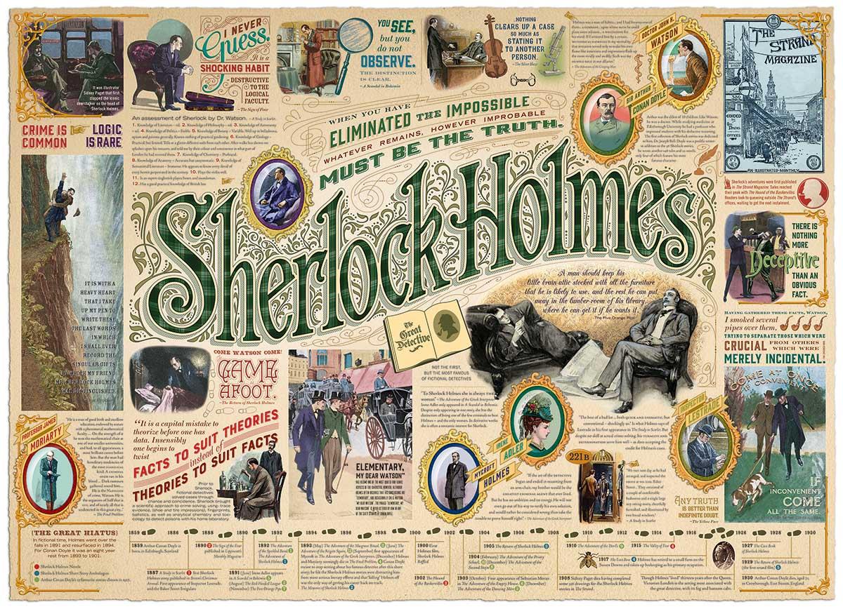 Puzzle Sherlock Cobble Hill 80293 1000