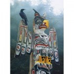 Puzzle   Totem Pole in the Mist