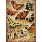 Puzzle   XXL Pieces - Backyard Butterflies