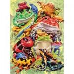 Puzzle   XXL Pieces - Frog Pile