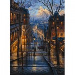 Puzzle  Perre-Anatolian-3192 France, Paris: Montmartre in the spring