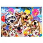 Puzzle  Perre-Anatolian-3318 Beach Party Selfie