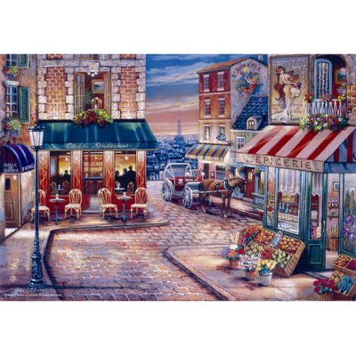 Puzzle Perre-Anatolian-3523 John O'Brien: Rendezvous Cafe