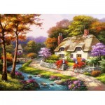 Puzzle  Perre-Anatolian-3577 Spring Cottage