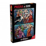 Perre-Anatolian-3612 2 Puzzles - Colorful Notes