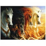 Puzzle  Perre-Anatolian-3902 The 4 Horses of the Apocalypse