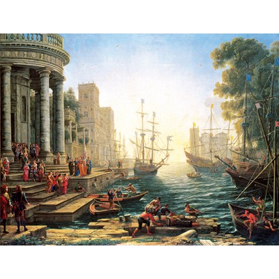 Puzzle Perre-Anatolian-4902 Seaport with the Embarkation of St. Ursula