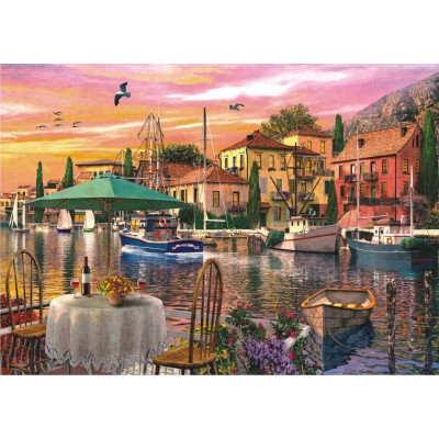 Puzzle Perre-Anatolian-4905 Sunset Harbour