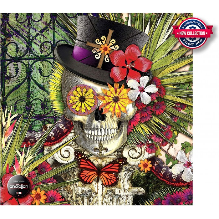 Blooming Baron Puzzle 1024 pieces