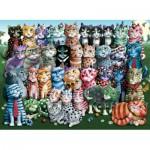 Puzzle   Cat Family Reunion