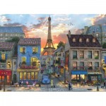 Puzzle   Dominic Davison - Streets of Paris