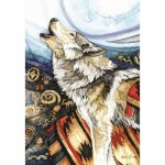 Puzzle   Howling Wolf