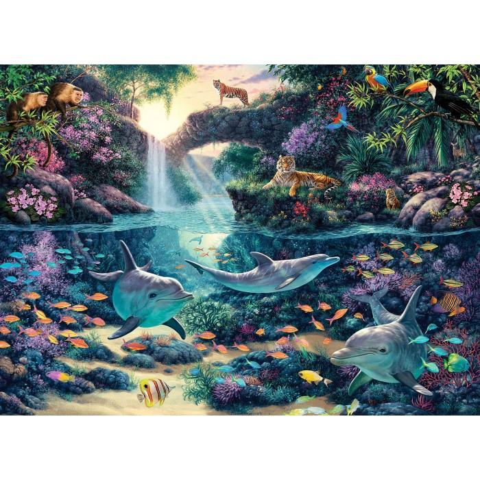 Jungle Paradise Puzzle 3000 pieces