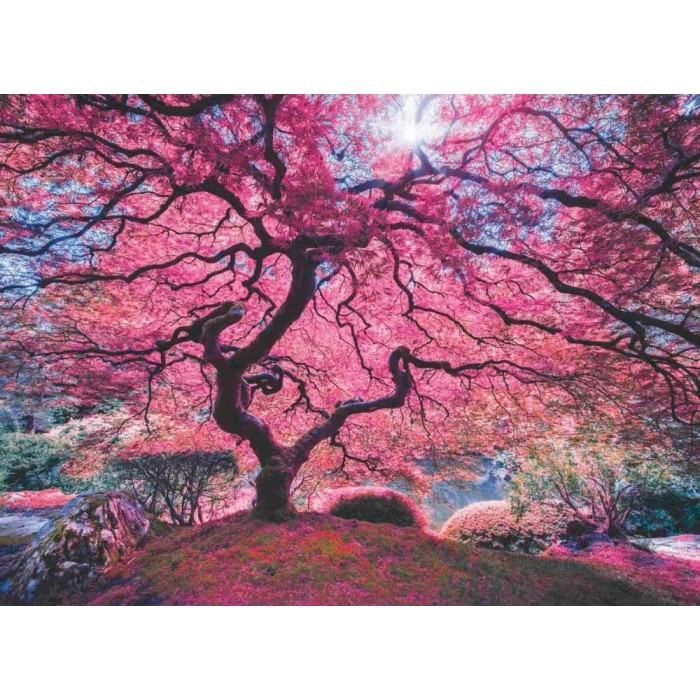 Pink Tree Puzzle 1000 pieces