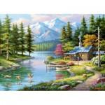 Puzzle   Resting Canoe