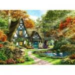 Puzzle   The Autumn Cottage