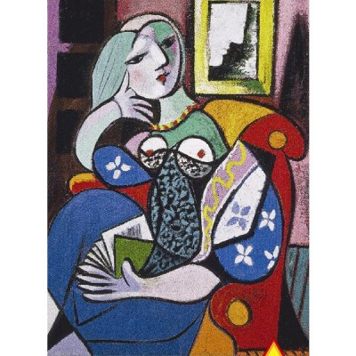 Piatnik-5341 Jigsaw Puzzle - 1000 Pieces - Picasso : Woman with a Book